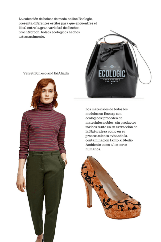 Moda ecológica mujer